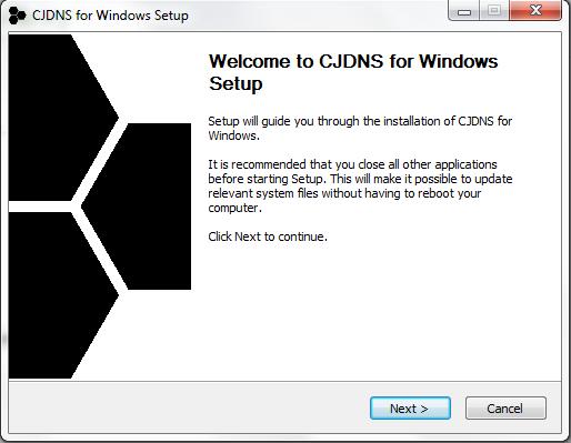 node install windows